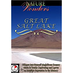 Nature Wonders  GREAT SALT LAKE USA