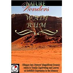 Nature Wonders  WADI RUM Jordan