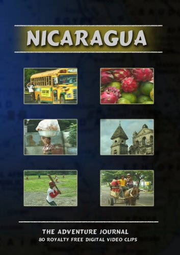 Nicaragua Royalty Free Stock Footage