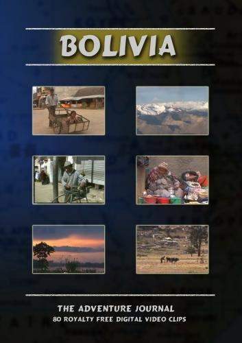 Bolivia Royalty Free Stock Footage