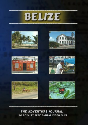Belize Royalty Free Stock Footage