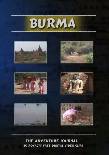 Burma Royalty Free Stock Footage