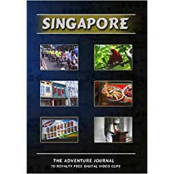 Singapore Royalty Free Stock Footage