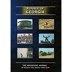Republic of Georgia Royalty Free Stock Footage
