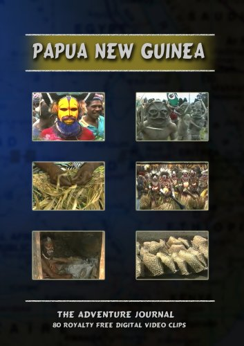 Papua New Guinea Royalty Free Stock Footage