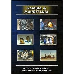 Gambia & Mauritania Royalty Free Stock Footage