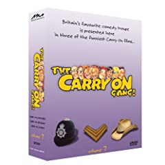 The Carry On Gang Vol 7 - 3 Disc Set (Carry On Constable - Carry On Sergeant - Carry On Cowboy)