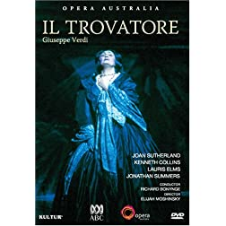 Verdi - Il Trovatore / Joan Sutherland, Kenneth Collins, Australian Opera Chorus