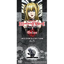 Death Note Vol. 4 with Limited Edition Jealous Figurine