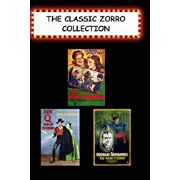 Classic Zorro Collection (Bold Caballero, Don Q Son of Zorro, Mark of Zorro)