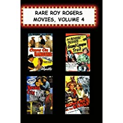 Rare Roy Rogers Movies, Vol 4 (Come on Rangers,Grand Canyon Trail, Nevada City, Romance on the Range