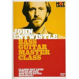 John Entwistle: Bass Guitar Master Class