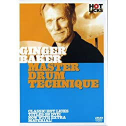 Ginger Baker: Master Drum Technique