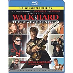 Walk Hard: The Dewey Cox Story (2-Disc Unrated Edition) [Blu-ray]
