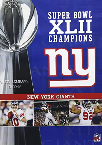NFL Super Bowl XLII - New York Giants Championship DVD