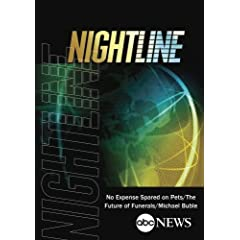 ABC News Nightline No Expense Spared on Pets/The Future of Funerals/Michael Buble