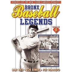 Baseball - Bronx Baseball Legends Vol. 1
