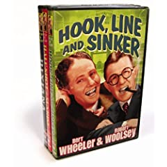Wheeler & Woolsey Triple Feature (Dixiana/Half Shot at Sunrise/Hook, Line & Sinker)