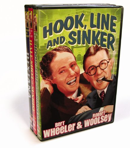 Wheeler & Woolsey Triple Feature (Dixiana/Half Shot at Sunrise/Hook, Line & Sinker)