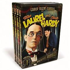 Laurel & Hardy - Early Silent Classics Vol. 1-4