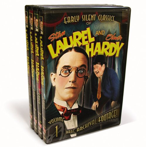 Laurel & Hardy - Early Silent Classics Vol. 1-4
