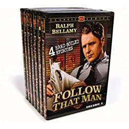 Follow That Man (Aka Man Against Crime) Vol. 1-7