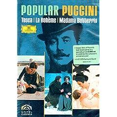 Popular Puccini: La Boheme/Madama Butterfly/Tosca