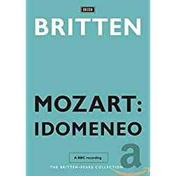 Mozart:  Idomeneo - Pears &amp; Britten