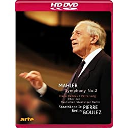 Gustav Mahler: Symphony No. 2 Resurrection [HD DVD]
