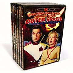 Rocky Jones, Space Ranger Collection (Beyond The Moon/Crash of The Moon/The Gypsy Moon/Manhunt in Space/Menace from Outer Space/Silver Needle in The Sky)