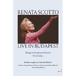 Renata Scotto in Concert in Budapest