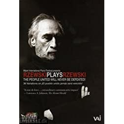 Rzewski Plays Rzewski: The People United Will Never Be Defeated!
