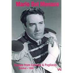 Mario Del Monaco at the Bolshoi