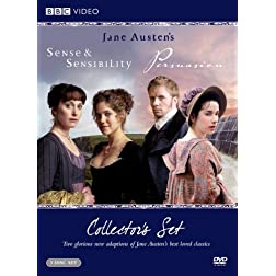 Sense & Sensibility Collector's Set (Sense & Sensibility 2008 / Miss Austen Regrets / Persuasion 2007)