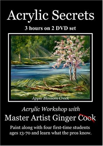 Acrylic Secrets with Ginger Cook - Apple Blossom Creek