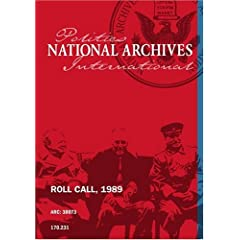 ROLL CALL, 1989