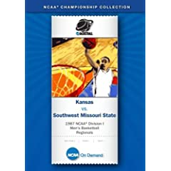 1987 NCAA Division I Men's Basketball Regionals - Kansas vs. Southwest Missouri State