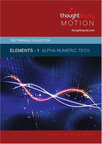 Elements 1 - Alpha Numeric Tech