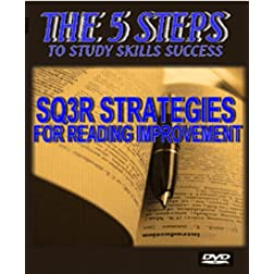 The 5 Steps SQ3R Strategies for reading Improvement