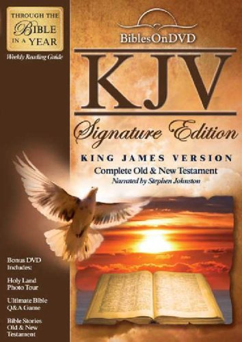 Bibles on DVD: King James Version Signature Edition