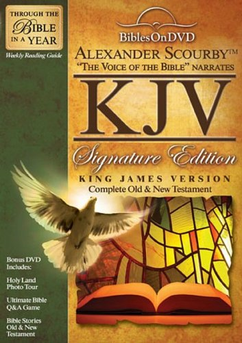 Bibles on DVD: Alexander Scourby - King James Version Signature Edition