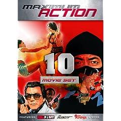 Maximum Action 10 Movie Set