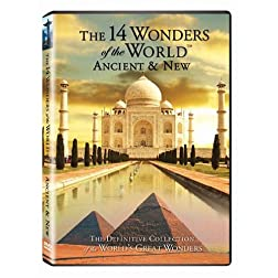 The 14 Wonders of the World ancient and new