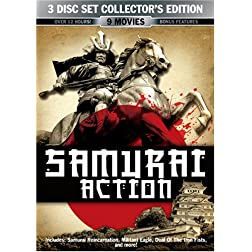 Samurai Action 3 Disc Collector's Editiom