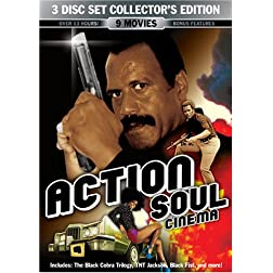 Action Soul Cinema 3 Disc Collector's Edition