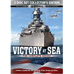 Victory At Sea: The Complete Series 3 Disc Collector's Edition