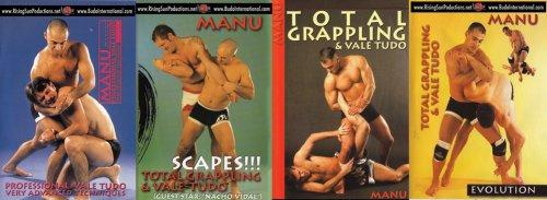 Vale Tudo: Manu Neito 4 DVD Set