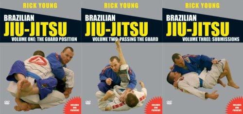 Brazilian Jiu-Jitsu: Rcik Young 3 DVD Set