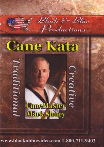 Mark Shuey Cane Form: Traditional and Creative Sport Karate Kata
