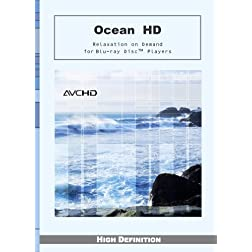 Ocean HD - Relaxation on Demand - Big Sur/Central Coast California [AVCHD for Blu-ray Disc Players]